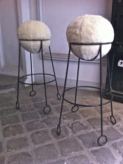 Jean Roy re Jean Roy re are documented set of 4 model yoyo bar stools - 1310303