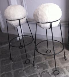 Jean Roy re Jean Roy re are documented set of 4 model yoyo bar stools - 1310309