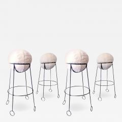Jean Roy re Jean Roy re are documented set of 4 model yoyo bar stools - 1311730