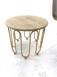 Jean Roy re Jean Royere attributed wave round coffee table - 996563