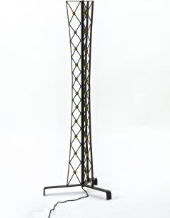 Jean Roy re Jean Royere documented tour effeil wrought iron floor lamp - 878065