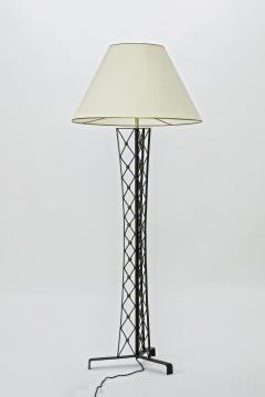 Jean Roy re Jean Royere documented tour effeil wrought iron floor lamp - 878066
