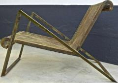 Jean Roy re Jean Royere early rarest documented perforated iron lounge chair - 976301