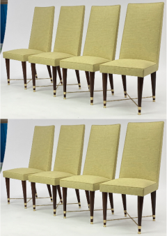 Jean Roy re Jean Royere genuine documented set of 8 dinning chairs - 1640131