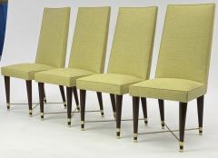 Jean Roy re Jean Royere genuine documented set of 8 dinning chairs - 1640135