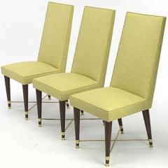 Jean Roy re Jean Royere genuine documented set of 8 dinning chairs - 1640137