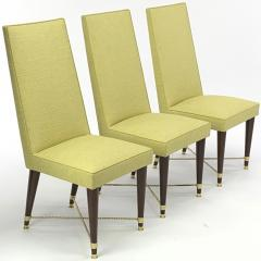 Jean Roy re Jean Royere genuine documented set of 8 dinning chairs - 1640138