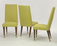 Jean Roy re Jean Royere genuine documented set of 8 dinning chairs - 1640187