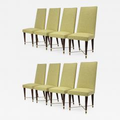 Jean Roy re Jean Royere genuine documented set of 8 dinning chairs - 1642826