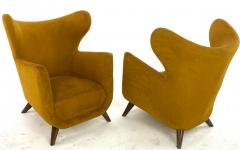 Jean Roy re Jean Royere pair of Petit Elephanteau chairs in genuine vintage condition - 1754506