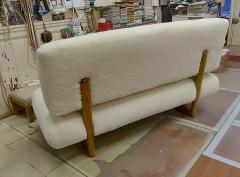 Jean Roy re Jean Royere rarest documented genuine slipper couch model Sculpture - 1828748