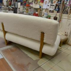 Jean Roy re Jean Royere rarest documented genuine slipper couch model Sculpture - 1828749