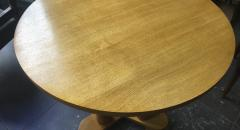 Jean Roy re Jean Royere rarest genuine oak small dinning table or central table - 1320103