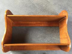 Jean Roy re Jean Royere vintage rarest wave oak 2 tier shelve - 1325079