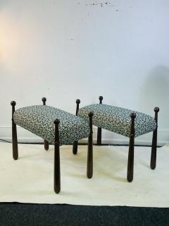 Jean Roy re MODERNIST PAIR OF BENCHES IN THE MANNER OF JEAN ROYERE - 1957466