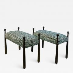 Jean Roy re MODERNIST PAIR OF BENCHES IN THE MANNER OF JEAN ROYERE - 1962764