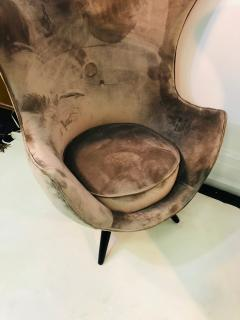Jean Roy re Pair of Italian Chairs in the Manner of Jean Royere - 1074832