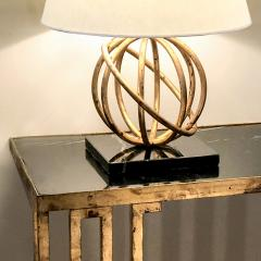 Jean Roy re Pair of Sphere Table Lamps by Jean Royere - 1069352