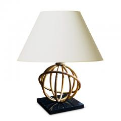 Jean Roy re Pair of Sphere Table Lamps by Jean Royere - 1069355