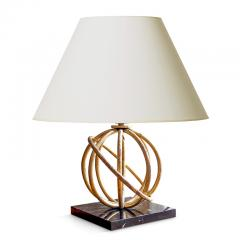 Jean Roy re Pair of Sphere Table Lamps by Jean Royere - 1069356