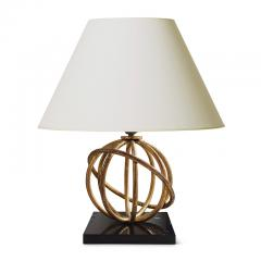 Jean Roy re Pair of Sphere Table Lamps by Jean Royere - 1069361