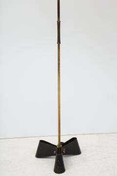 Jean Roy re Unique bronze and wrought iron floor lamp 1950s - 1740054