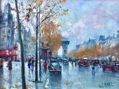 Jean Salabet View of Arc de Triomphe  - 1128868