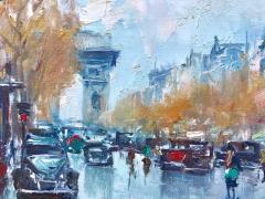 Jean Salabet View of Arc de Triomphe  - 1128871