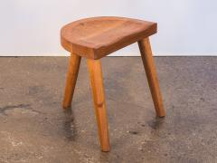 Jean Touret Jean Touret Oak Stool for Marolles - 627523