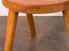Jean Touret Jean Touret Oak Stool for Marolles - 627525