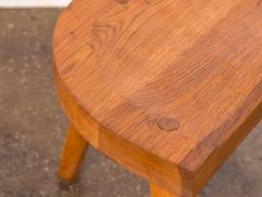 Jean Touret Jean Touret Oak Stool for Marolles - 627528