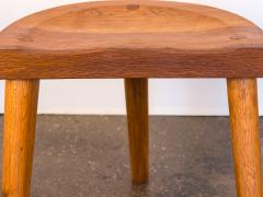 Jean Touret Jean Touret Oak Stool for Marolles - 627529