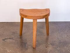 Jean Touret Jean Touret Oak Stool for Marolles - 627530