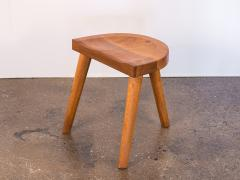 Jean Touret Jean Touret Oak Stool for Marolles - 627531