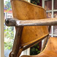 Jean Touret Jean Touret stunning brutalist a la gouge oak set of 4 organic lounge chairs - 1689072