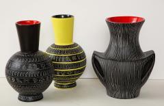 Jean de Lespinasse Set of three ceramic vases by Jean de Lespinasse - 1552194