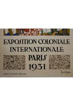 Jean de la Meziere International Colonial Exhibition of Paris by Jean de la Meziere - 906078
