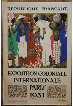 Jean de la Meziere International Colonial Exhibition of Paris by Jean de la Meziere - 906083