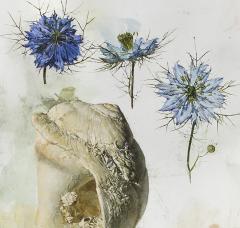 Jeffrey Ripple Shells Butterflies and Flowers - 692540
