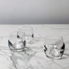 Jennie Olofsson Walden bottle and glasses by Glasstudion Big Pink - 1649472