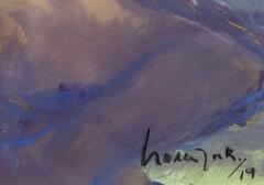 Jennifer Hornyak Nu avec cheveux bleus - 1216719