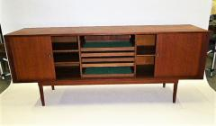 Danish Design Credenza : Tambour door credenza jens h quistgaard lovig danish design