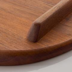 Jens Quistgaard DANSK Meat Carving Board Tray Serving Platter Staved Solid Teak Jens Quistgaard - 1847865