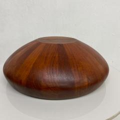 Jens Quistgaard DANSK Staved Teak Wood Centerpiece Bowl DENMARK Jens Quistgaard 1970s - 1983909