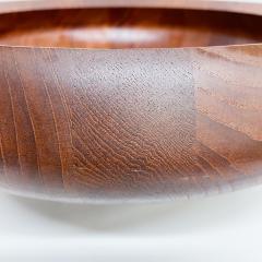 Jens Quistgaard DANSK Staved Teak Wood Centerpiece Bowl DENMARK Jens Quistgaard 1970s - 1983911