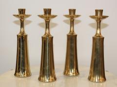Jens Quistgaard Jens Quistgaard For Dansk Brass Candlestick - 766579