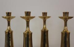 Jens Quistgaard Jens Quistgaard For Dansk Brass Candlestick - 766582