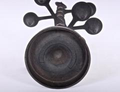 Jens Quistgaard Jens Quistgaard for Dansk Black Iron Brass Candle Tree Candelabra 1960s - 1646278