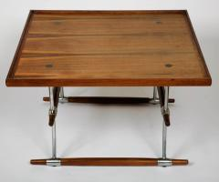 Jens Quistgaard Rosewood and chromed metal coffee table by Jens Quistgaard - 1443638