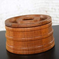 Jens Quistgaard Scandinavian modern teak ice bucket by jens quistgaard for dansk - 1706023